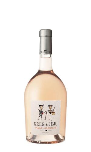 """Greg & Juju"" Pinot - Grenache Pays dOc Rose"