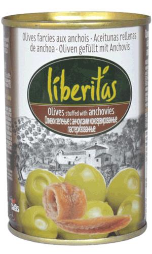Oliven mit Anchovipaste