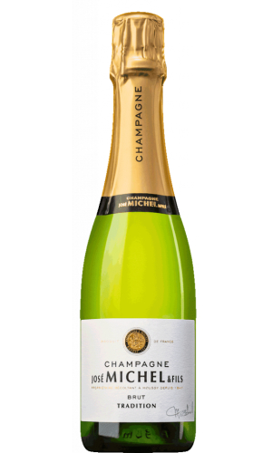 Jose Michel Champagner Brut Tradition 0,375l