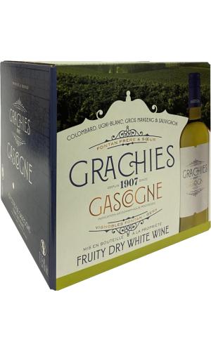 Domaine de Grachies Cotes de Gascogne Blanc BIB