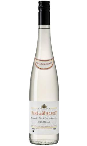 Rene de Miscault Eau de Vie Mirabelle