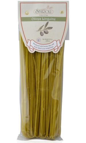 Sbiroli Linguine mit Oliven