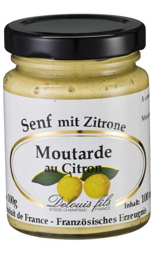 Delouis Fils- Senf mit Zitrone