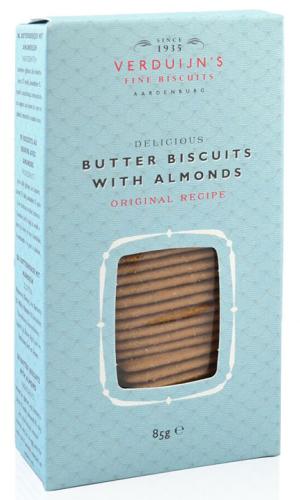 Verduijns Butter Biscuits mit Mandeln