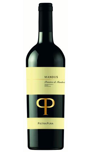 "Pietra Pura ""Mandus"" Primitivo di Manduria DOC"