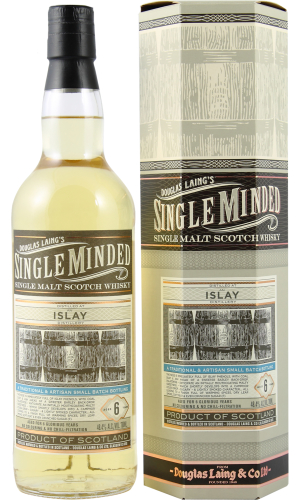 Single Minded Single Malt Scotch Whisky 6 years